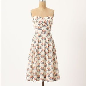 Anthropologie Bike Lane dress size 4